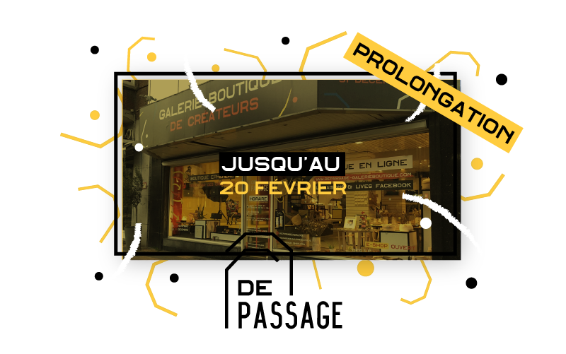 DE PASSAGE: occupation prolongée jusqu'au 20/02